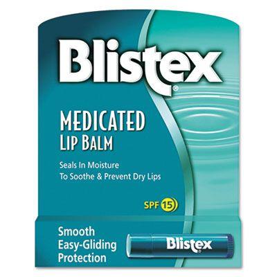 Blistex Medicated Lip Balm, SPF 15 - 24 / Case (30117)