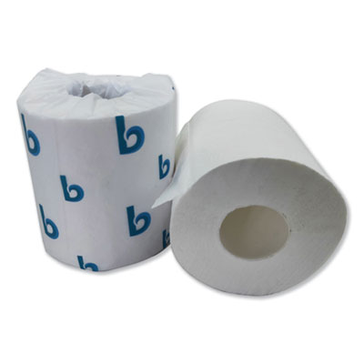Boardwalk 6380 Deluxe Toilet Paper, 2 Ply, 380 Sheets / Standard Roll - 96 / Case