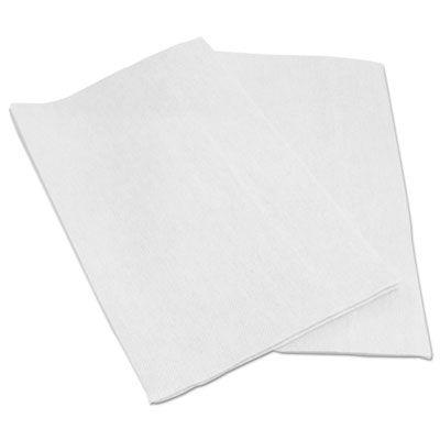 "Boardwalk N8200 Foodservice Wiper Towels, 13"" x 21"", White - 150 / Case"