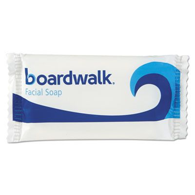 Boardwalk NO34SOAP Hotel Face and Body Soap, Flow Wrapped, Floral Scent, # 3/4 Bar - 1000 / Case