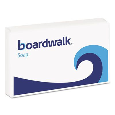 Boardwalk NO3SOAP Hotel Face and Body Soap, Paper Wrapped, Floral Scent, # 3 Soap Bar - 144 / Case