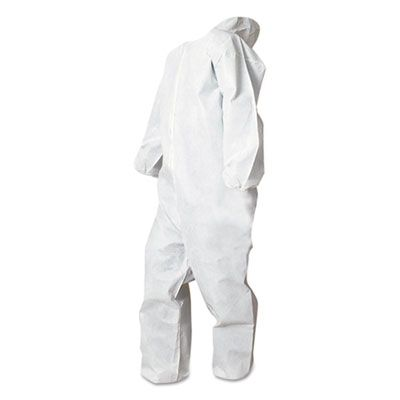 Boardwalk 32XL Disposable Coveralls, Size X-Large, Polypropylene, White - 25 / Case