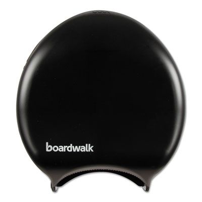 Boardwalk 1519 Jumbo Roll Toilet Paper Dispenser, Black - 1 / Case