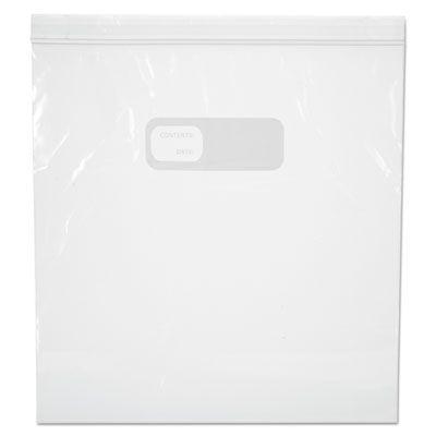 "Boardwalk 1GALFZRBAG Reclosable Plastic Freezer Food Storage Bags, 1 Gallon, 2.7 Mil, 10.56"" x 11"", Clear - 250 / Case"