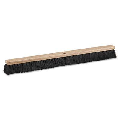 "Boardwalk 20636 Floor Brush Head with Polypropylene Bristles, 36"" Wide - 1 / Case"