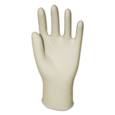 Boardwalk 315L Vinyl Gloves, Powder Free, Large, 4 Mil, Cream - 1000 / Case