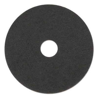 "Boardwalk 4020HIP High Performance Stripping Floor Pads, 20"" Diameter, Grayish Black - 5 / Case"