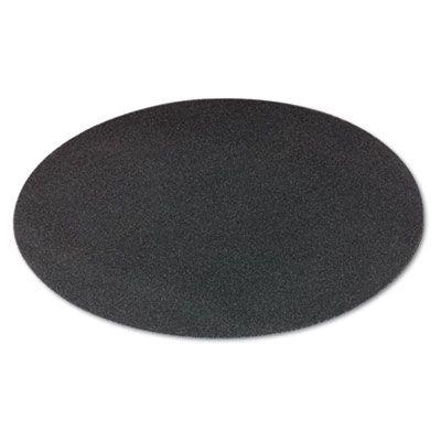 """Boardwalk 50208010 20"""" Sanding Screens, 80 Grit, Black - 10 / Case"""