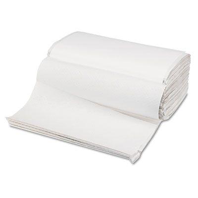 """Boardwalk 6212 Singlefold Paper Hand Towels, 9"""" x 9-9/20"""", White - 4000 / Case"""