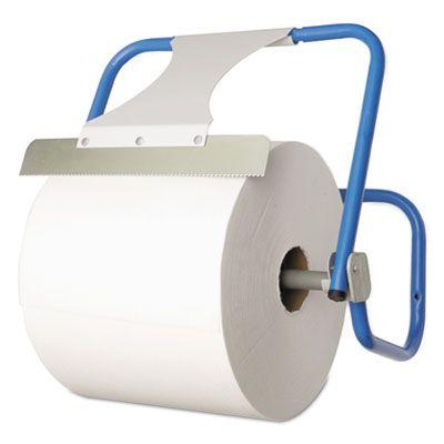 Boardwalk 680592 Dispenser for Jumbo Roll Paper Towels, Wall-Mount, Steel, Blue - 1 / Case