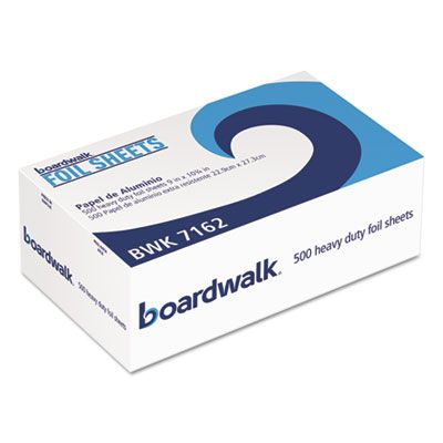 "Boardwalk 7162 Aluminum Foil Pop-Up Sheets, Standard, 9"" x 10-3/4"" - 3000 / Case"