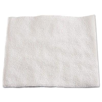 "Boardwalk 8310W Paper Lunch Napkins, 1/4 Fold, 1 Ply, 13"" x 11"", White - 6000 / Case"