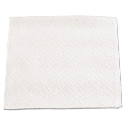 "Boardwalk 8317W Paper Beverage Napkins, 1 Ply, 4.75"" x 4.5"", White - 4000 / Case"