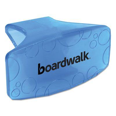 Boardwalk CLIPCBL Toilet Bowl Air Freshener Clips, Cotton Blossom Scent, Blue - 12 / Case