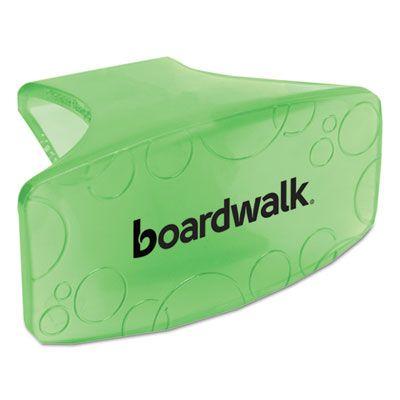 Boardwalk CLIPCME Toilet Bowl Clips, Cucumber Melon Air Freshener, Green - 12 / Case