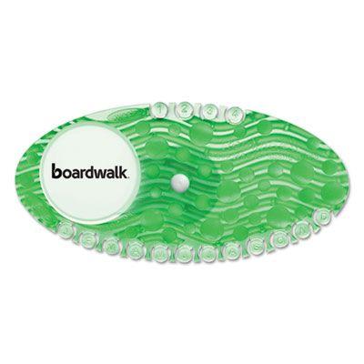 Boardwalk CLIPCME Toilet Bowl Clip, Cucumber Melon Freshener, Green, 72 / Case