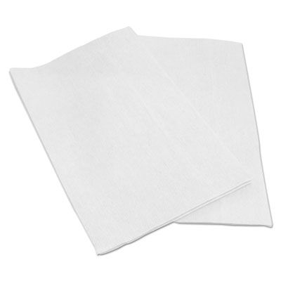 "Boardwalk F420QCW EPS Towels, 13"" x 21"", White - 150 / Case"