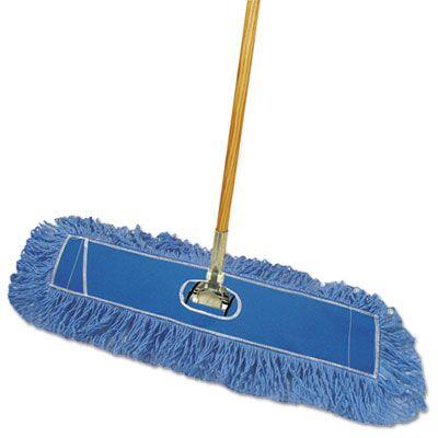 """Boardwalk HL245BSPC 24"""" Dust Mop Kit, 60"""" Handle - 1 / Case"""