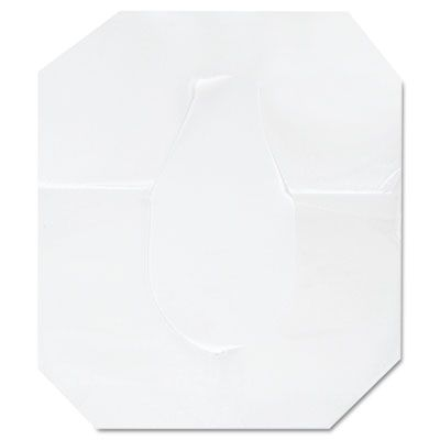 Boardwalk K1000 Half Fold Toilet Seat Covers, White - 1000 / Case