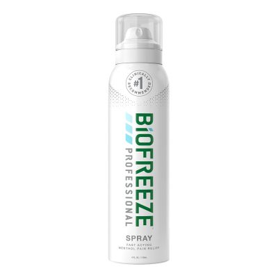 Performance Health 13422 Biofreeze Cold Therapy Topical Pain Relief, 10.5% Strength Menthol, 360° Spray, 4 oz - 1 / Case