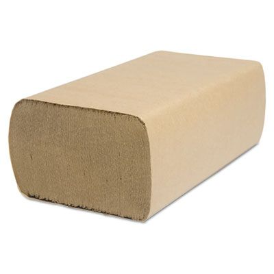 "Cascades H175 Select Multifold Paper Hand Towels, 9-1/8"" x 9-1/2"", Brown - 4000 / Case"