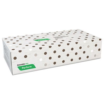 Cascades F300 Perform 2 Ply Facial Tissue, 100 Sheets / Flat Box - 30 / Case