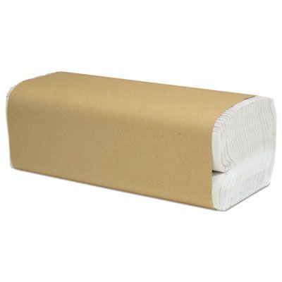 "Cascades H180 Select C-Fold Paper Hand Towels, 10"" x 13"", White - 2400 / Case"