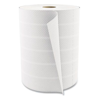 """Cascades U450 Select Kitchen Roll Paper Towels, 2 Ply, 11"""" x 8"""", 450 / Roll, White - 12 / Case"""