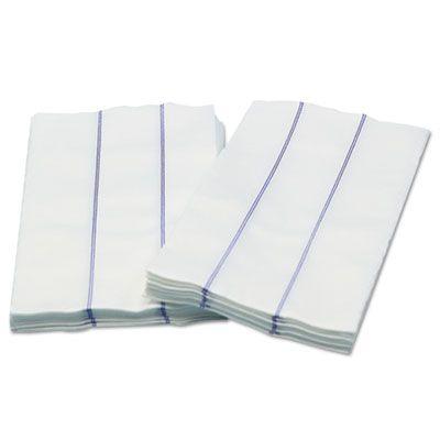 "Cascades W930 Tuff Job Premium Foodservice Towels, 1/4 Fold, 13"" x 24"", White / Blue - 72 / Case"