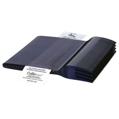 WNA CEASEFK960BL Cutlerease Dispenser Plastic Fork Refill Pack, Polystyrene, Black - 960 / Case