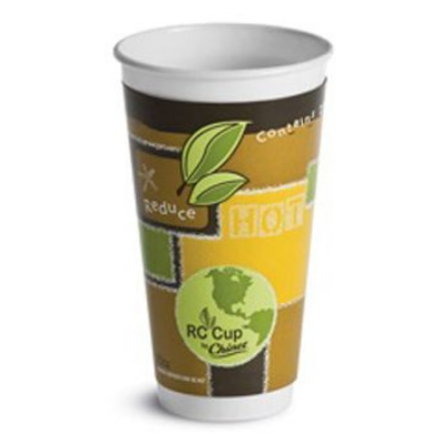 Chinet 63009 RC Comfort 20 oz Paper Hot / Cold Cup - 420 / Case