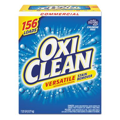 OxiClean 5703700069 Versatile Laundry Stain Remover, Regular Scent, 7.22 Lb Box - 1 / Case