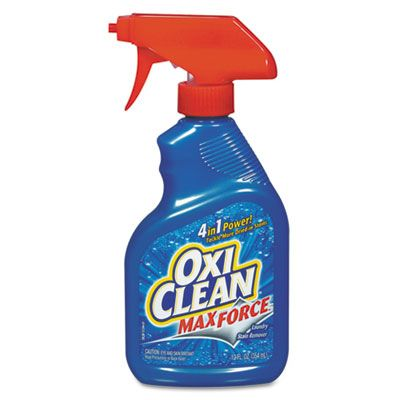 OxiClean 5703700070 MaxForce Laundry Stain Remover, 12 oz Spray Bottle - 12 / Case