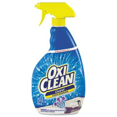 OxiClean 5703700078 Carpet Spot & Stain Remover, Liquid, 24 oz Spray Bottle, 6 / Case