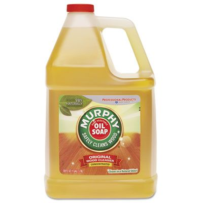 Colgate-Palmolive 1103 Murphy Oil Soap Floor Cleaner Liquid, 1 Gallon Bottle - 4 / Case