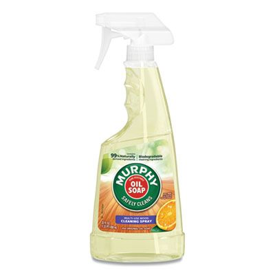 Colgate-Palmolive 1031 Murphy Oil Soap Wood / All Purpose Cleaner, Orange Scent, 22 oz Spray Bottle - 9 / Case