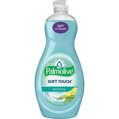 Colgate-Palmolive 4230 Soft Touch Liquid Dish Detergent, Aloe & Citrus, 20 oz Bottle - 9 / Case