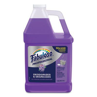 Colgate-Palmolive 5253 Fabuloso All Purpose Cleaner, Lavender, Gallon Bottle - 4 / Case