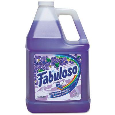 Colgate-Palmolive 53058 Fabuloso Multi-Use Cleaner, Lavender Scent, 1 Gallon - 4 / Case