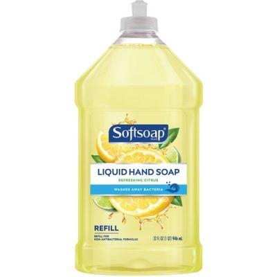 Colgate-Palmolive 7337 Softsoap Liquid Hand Soap, Citrus Scent, 32 oz Bottle - 9 / Case