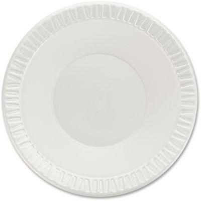 Dart 12BWWQR 10-12 oz Foam Bowls, Round, White - 1000 / Case