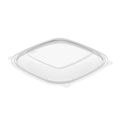 Dart C2464BDL Lids for PresentaBowls Pro Square 24-64 oz Bowls, PET, Clear - 252 / Case