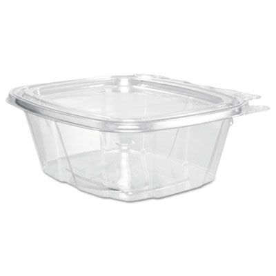 "Dart CH16DEF ClearPac SafeSeal 16 oz Tamper Resistent Plastic Food Containers, 4.9"" x 2.5"" x 5.5"", Clear - 200 / Case"