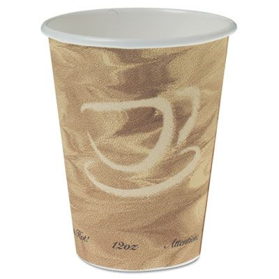Solo 412MSN-0029 Mistique 12 oz Poly-Lined Paper Hot Cups - 1000 / Case
