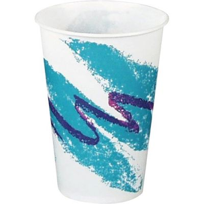 Solo R7N-00055 Jazz 7 oz Waxed Paper Cold Cups - 2000 / Case
