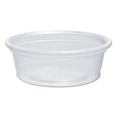 Dart 050PC 1/2 oz Plastic Souffle / Portion Cups, Polypropylene, Translucent - 2500 / Case