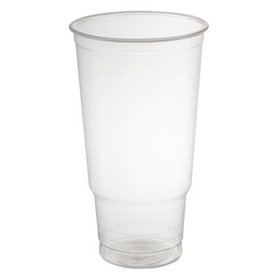 Dart Solo 32P Conex ClearPro 32 oz Plastic Cold Cups, Polypropylene, Clear - 500 / Case