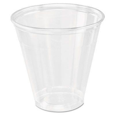 Dart Solo 5C Ultra Clear 5 oz PET Plastic Cold Cups, Clear - 2500 / Case