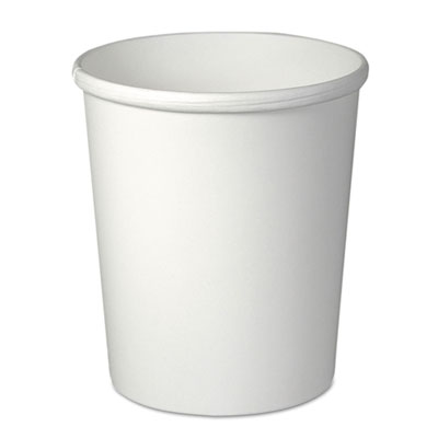 Solo H4325-2050 32 oz Flexstyle Paper Food Containers, White - 500 / Case