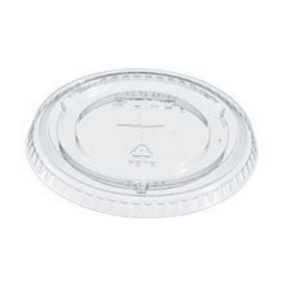 Solo 695TS Straw Slot Plastic Lids for Dart 12 oz, 14 oz Conex Cold Cups, PET, Clear - 1000 / Case